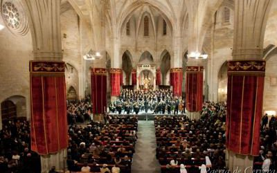 The Government declared the Festival of the Holy Mystery of Cervera as heritage festival of national interest