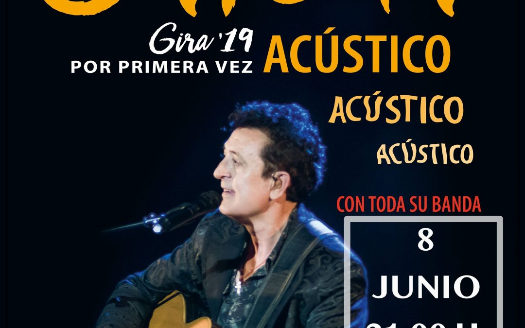 concert acoustique Manolo García Cervera
