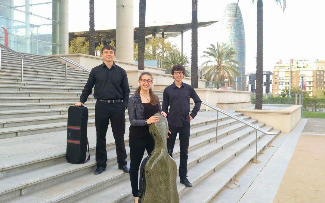 Debut del Trio Parèntesi a Cervera