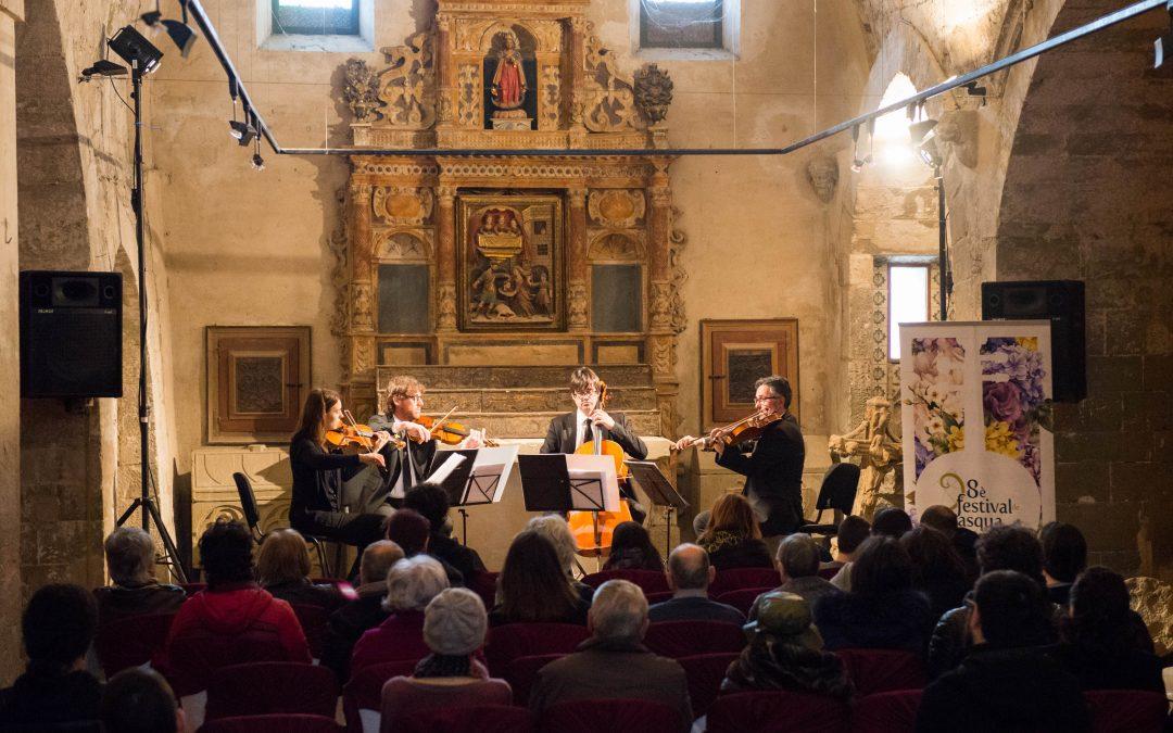 Cervera volverá a ser la capital de la música clásica catalana en la 9ª edición del Festival de Pascua