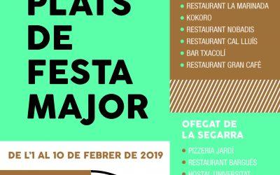 Food Festival in twelve restaurants Cervera