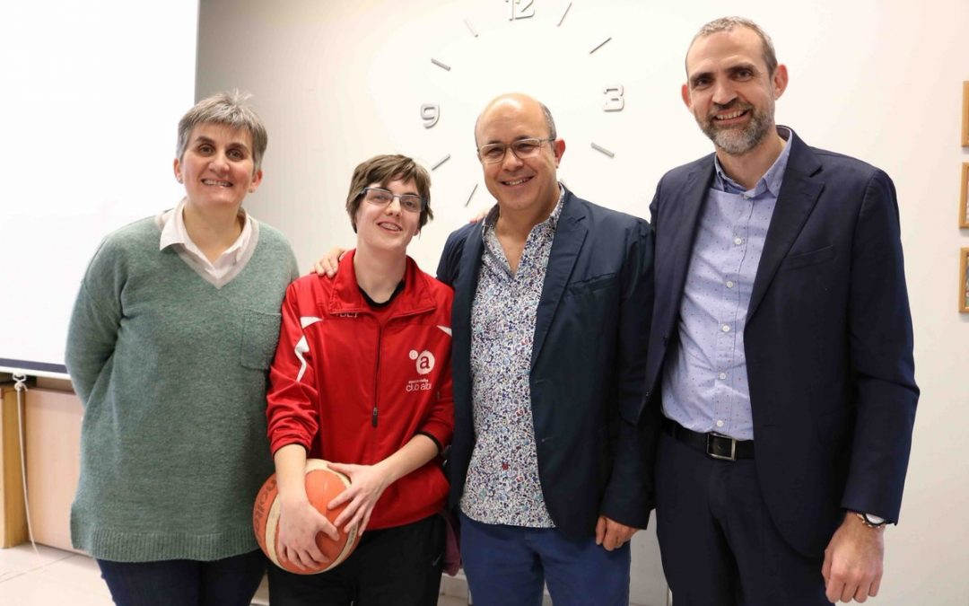 Veronica Torra, Sports Club Alba Tarrega, participate with the national team at the Special Olympics basketball 2019, which is disputing to Abu Dhabi (United Arab Emirates) of the 14 al 21 March.