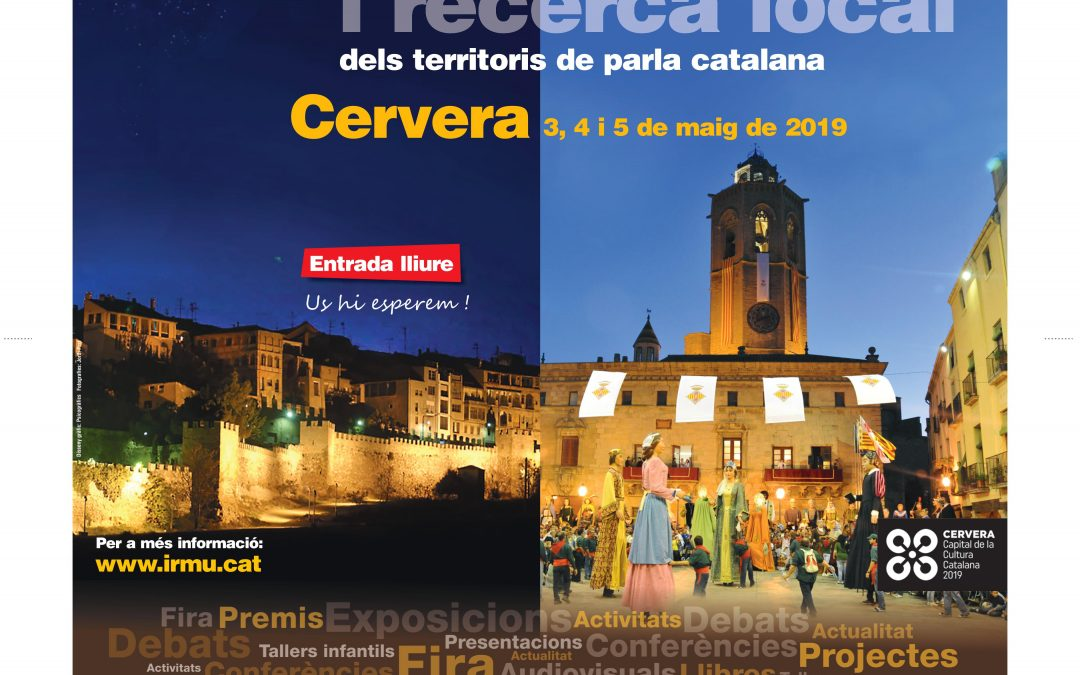Cervera will host the 15th edition of Recercat