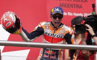 Victoria en solitario de Marc Márquez en el GP de Argentina