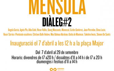 "inauguración de ""ménsula"", diálogos con el Patrimonio"