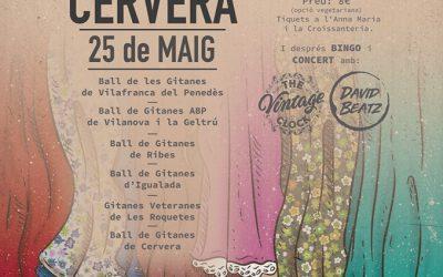 Festa del 5è aniversari del Ball de Gitanes de Cervera