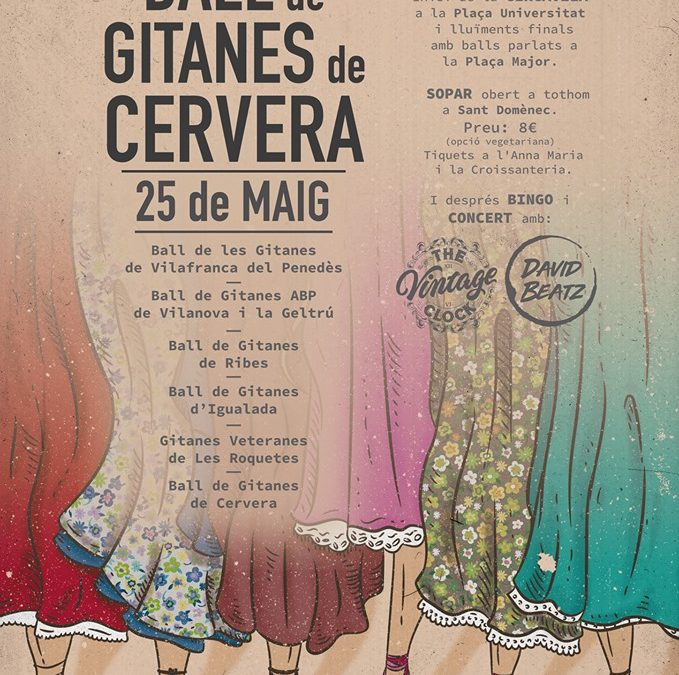 Celebration of the 5th anniversary of the Gypsy Dance Cervera