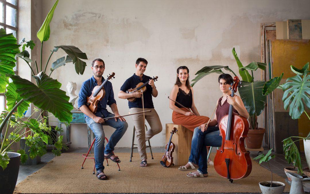 The Quartet Altimira debut in Cervera