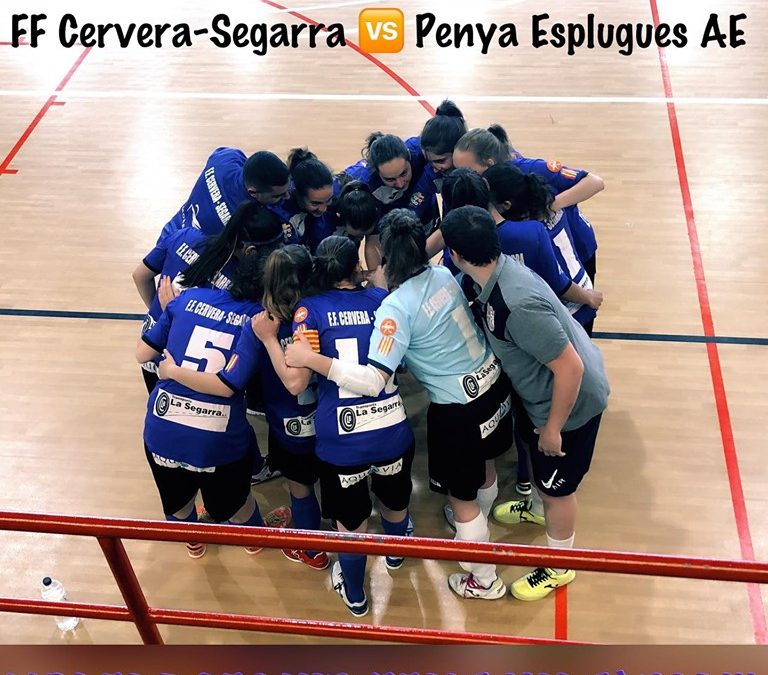 The FF Cervera disputes Cup semifinal Catalonia
