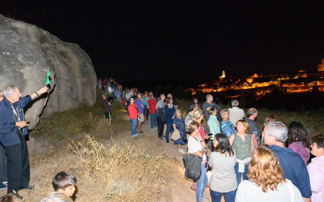 """panoramic Night"" the second night visit Cervera"