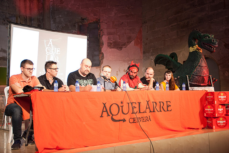 Everything ready for the 42nd edition of the Aquelarre Cervera