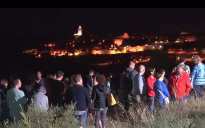 """""""Panoràmica Nocturna"""" la segona visita nocturna de Cervera"""