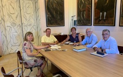 Receipt of the Association of Friends of the Camino de Santiago