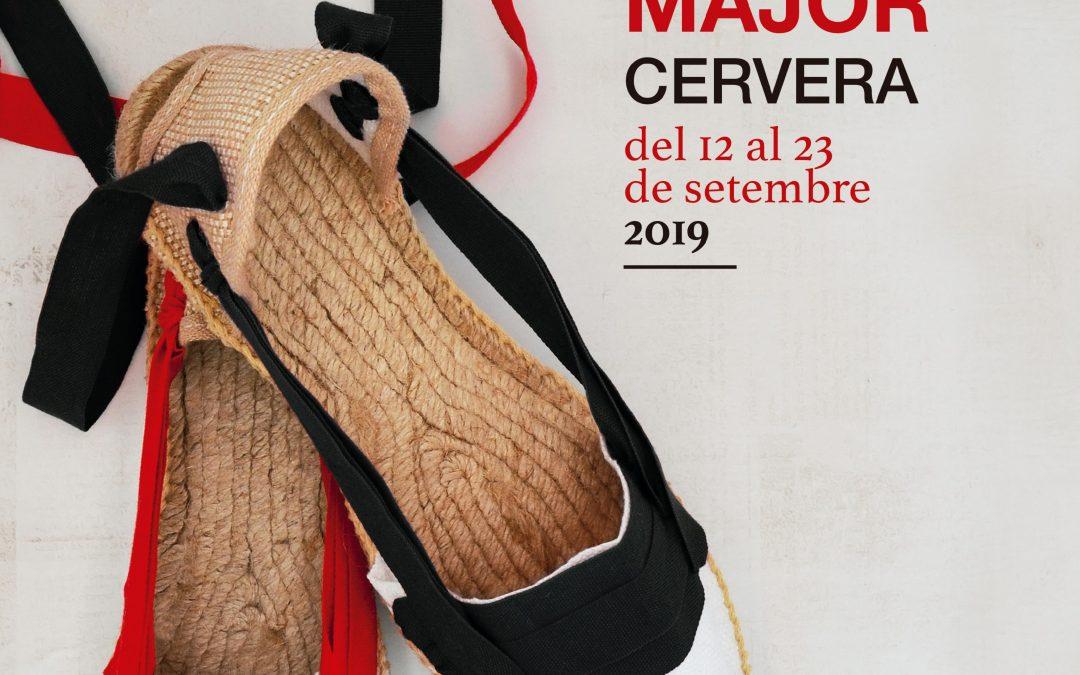 Comes the festival of Santo Cristo in Cervera