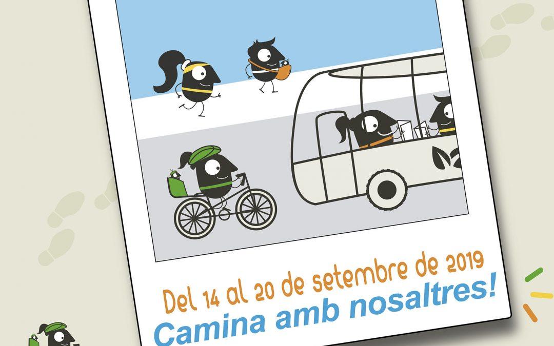 La Paeria de Cervera suma a la iniciativa organizando actividades conjuntamente con el CAP de Cervera, la Peña Ciclista y el Centro Excursionista de la Segarra, entre los días 14 y el 20 de septiembre.