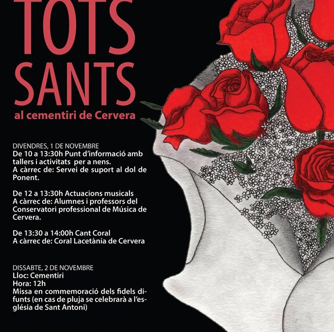 Activities at All Saints Cemetery Cervera