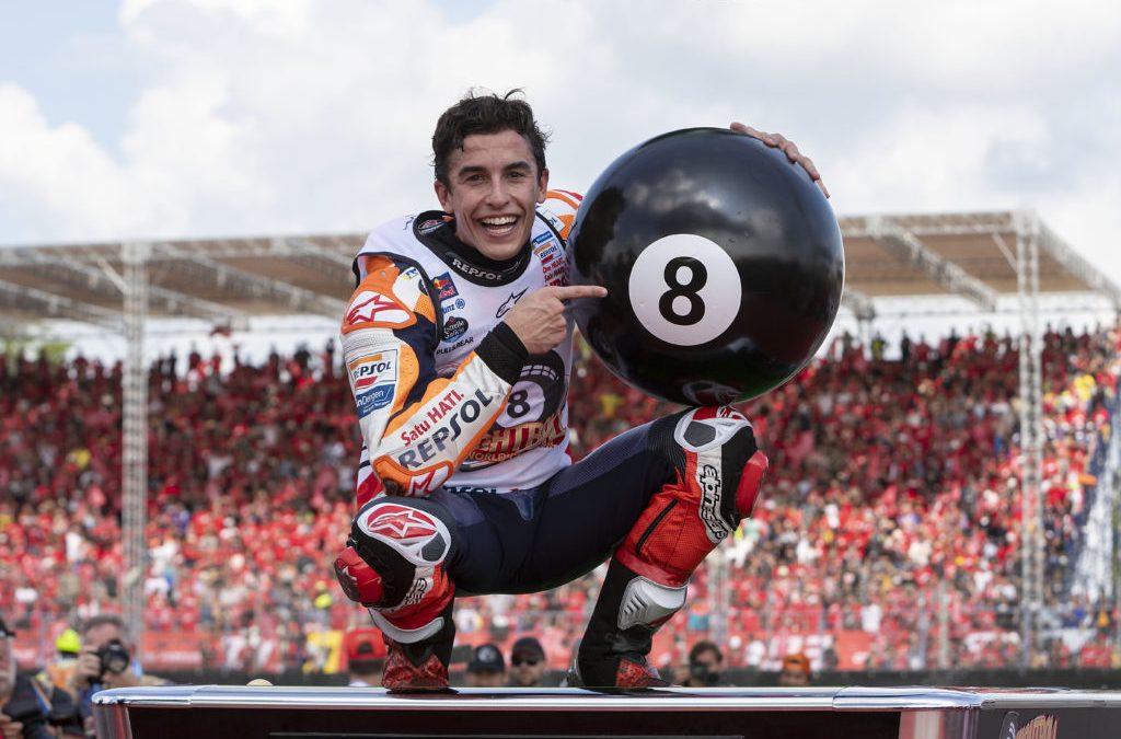 Marc Márquez s'adjudica el títol de Moto GP