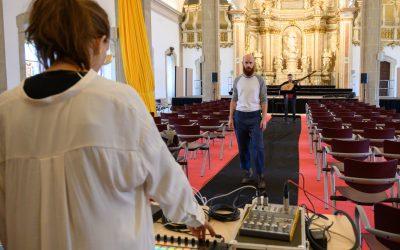 Concierto de música barroca y electrónica en el Paraninfo