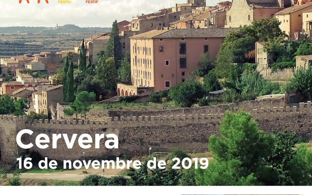 The big day of the festive beasts Catalan Cervera to be held on Saturday 16 November