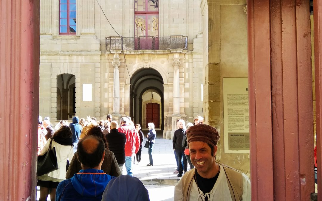 Cervera increase in visitors to the bridge of All Saints