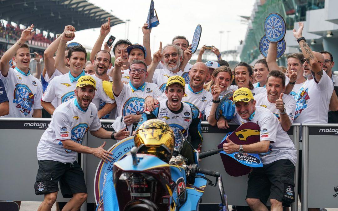 Àlex Márquez es proclama campió del món de Moto2