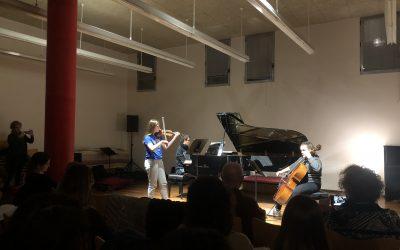 Conservatoire de Santa CICILIA célèbre, Patronne des musiciens