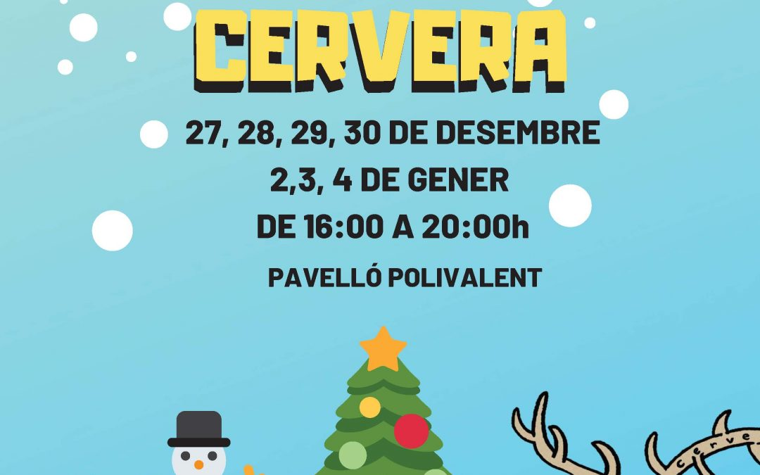 About the 22nd edition of the Christmas Park Cervera