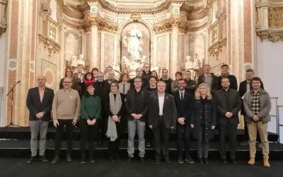 El Paraninfo de la Universidad acoge la Comisión Institucional de la Red de Museos de las Tierras de Lleida y Aran