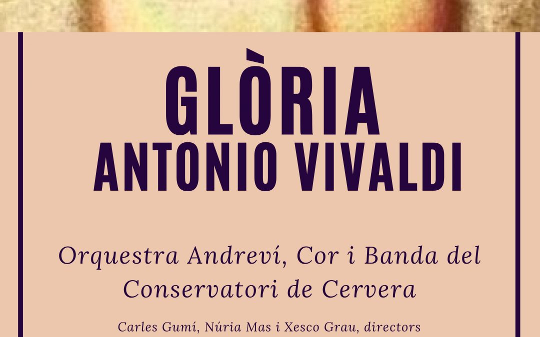 "Conservatory congratulate Christmas with the ""glory"" Vivaldi"