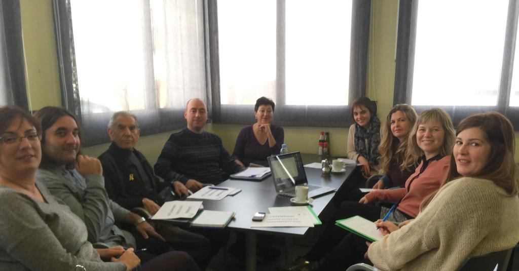 Meeting of the Town Council with tourist guides Cervera