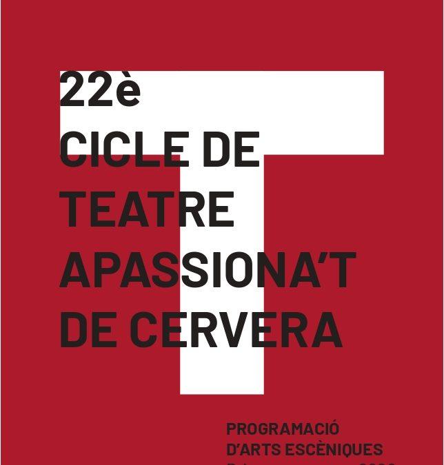 Season tickets Cycle theater Cervera