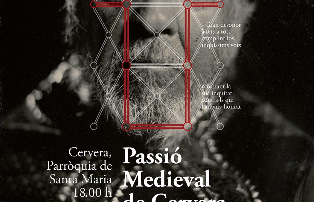 La Pasión Medieval de Cervera presenta el cartel