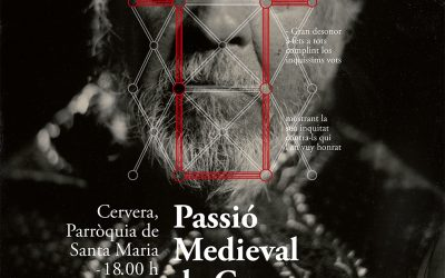 Passion Medieval Cervera presents poster