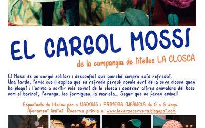 Afficher « La vis sans fin et Mossi » , Marionnettes avec coquille