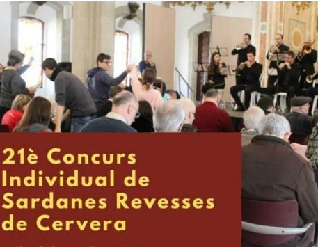XXI Concurs individual de sardanes revesses de Cervera