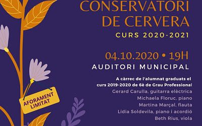 Inaugural concert of the new academic year of the Conservatory