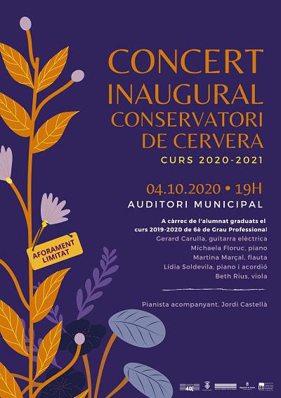 Concert inaugural de la nouvelle année académique du Conservatoire