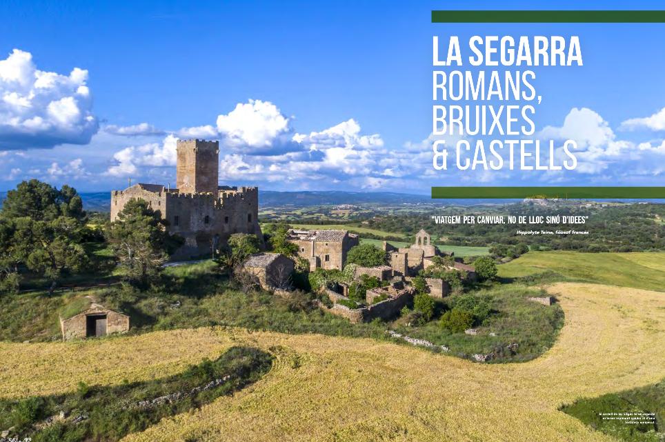 """la Segarra, protagonista de la revista turística """"ahora Lleida"""""""