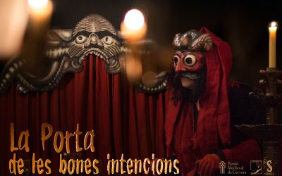 "The Medieval Passion of Cervera presents the infernal satire ""The Gate of Good Intentions"""