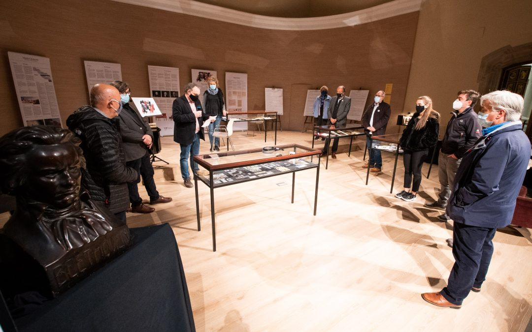 The Cervera Conservatory presents an exhibition on Beethoven and Clementi