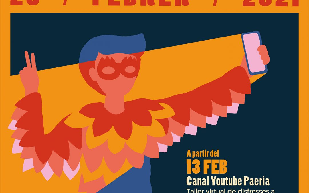 Le carnaval de Cervera sera au format virtuel