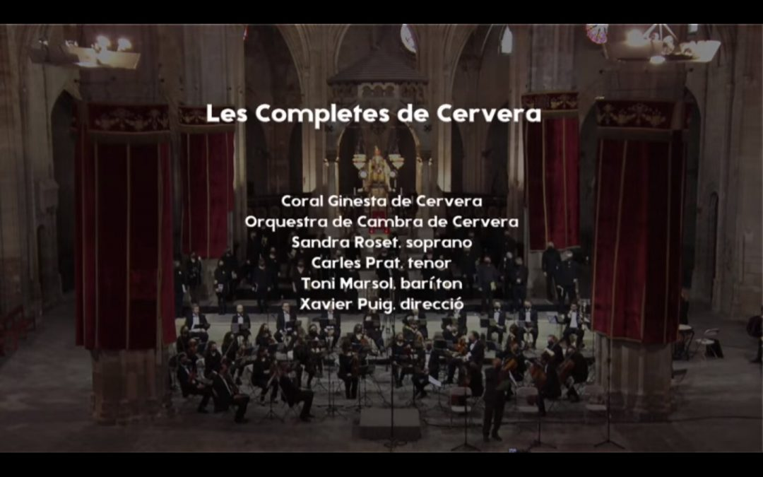 Audience success of the broadcast of the Completes de Cervera