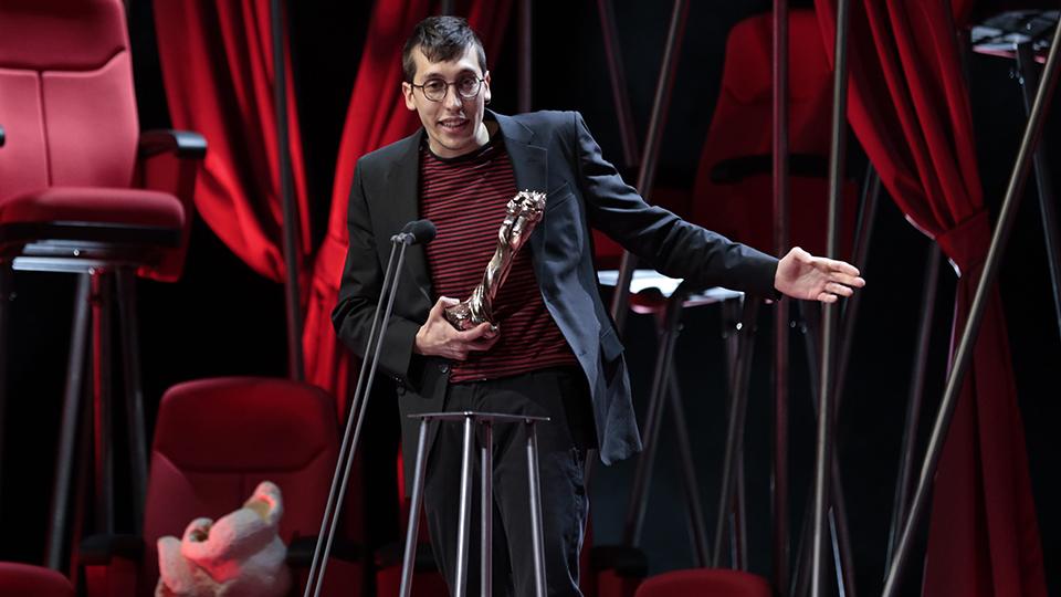 El cineasta Cervera Jordi Boquet gana un Premio Gaudí