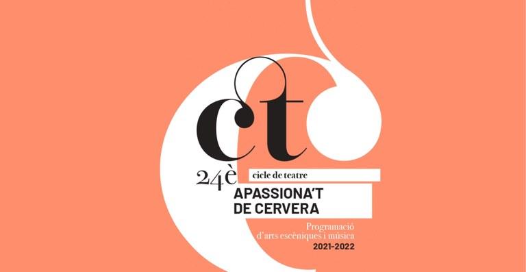 """Cervera recupera el Cicle de teatre """"Apassiona't"""", que programa set espectacles"""
